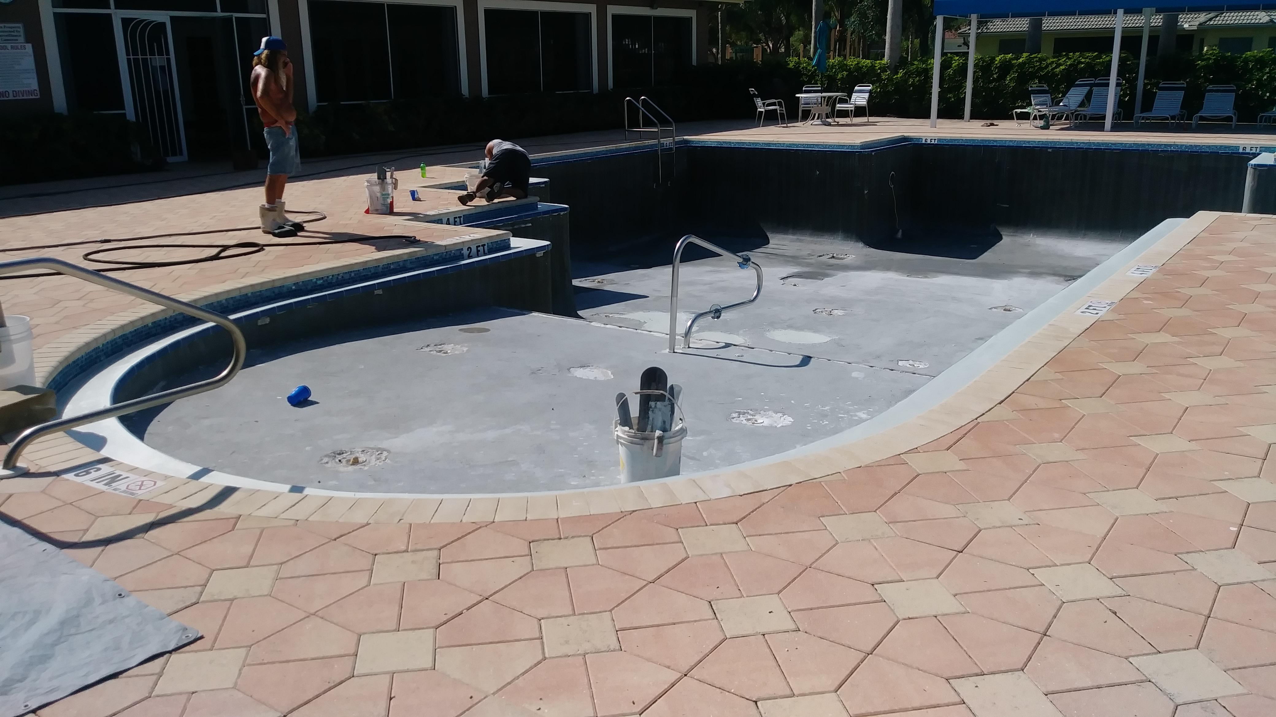 "Community Pool Renovation ""Before"""