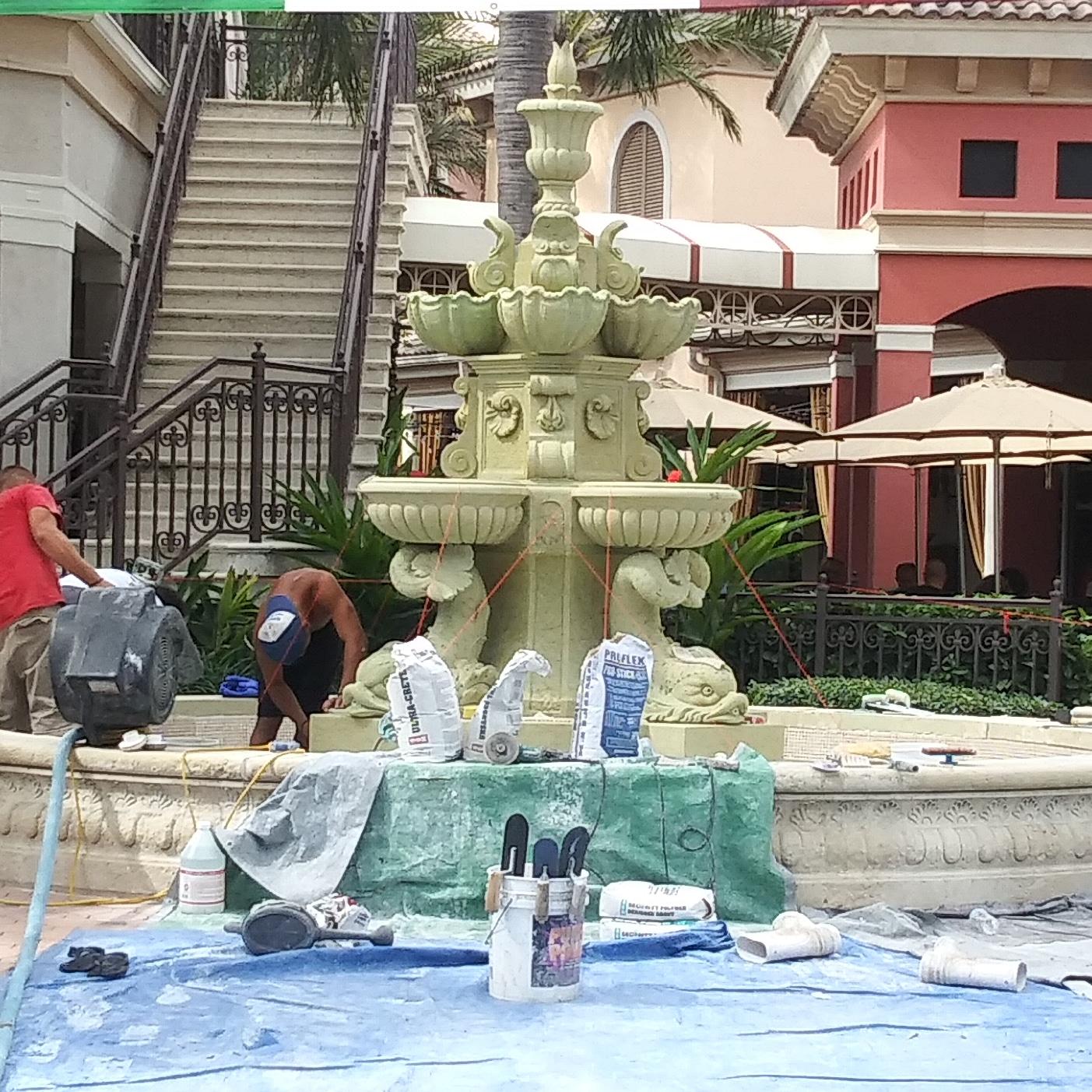 Fountain Repair & Restore