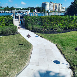 New Stone Walkway