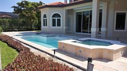 Pool, Deck & Spa