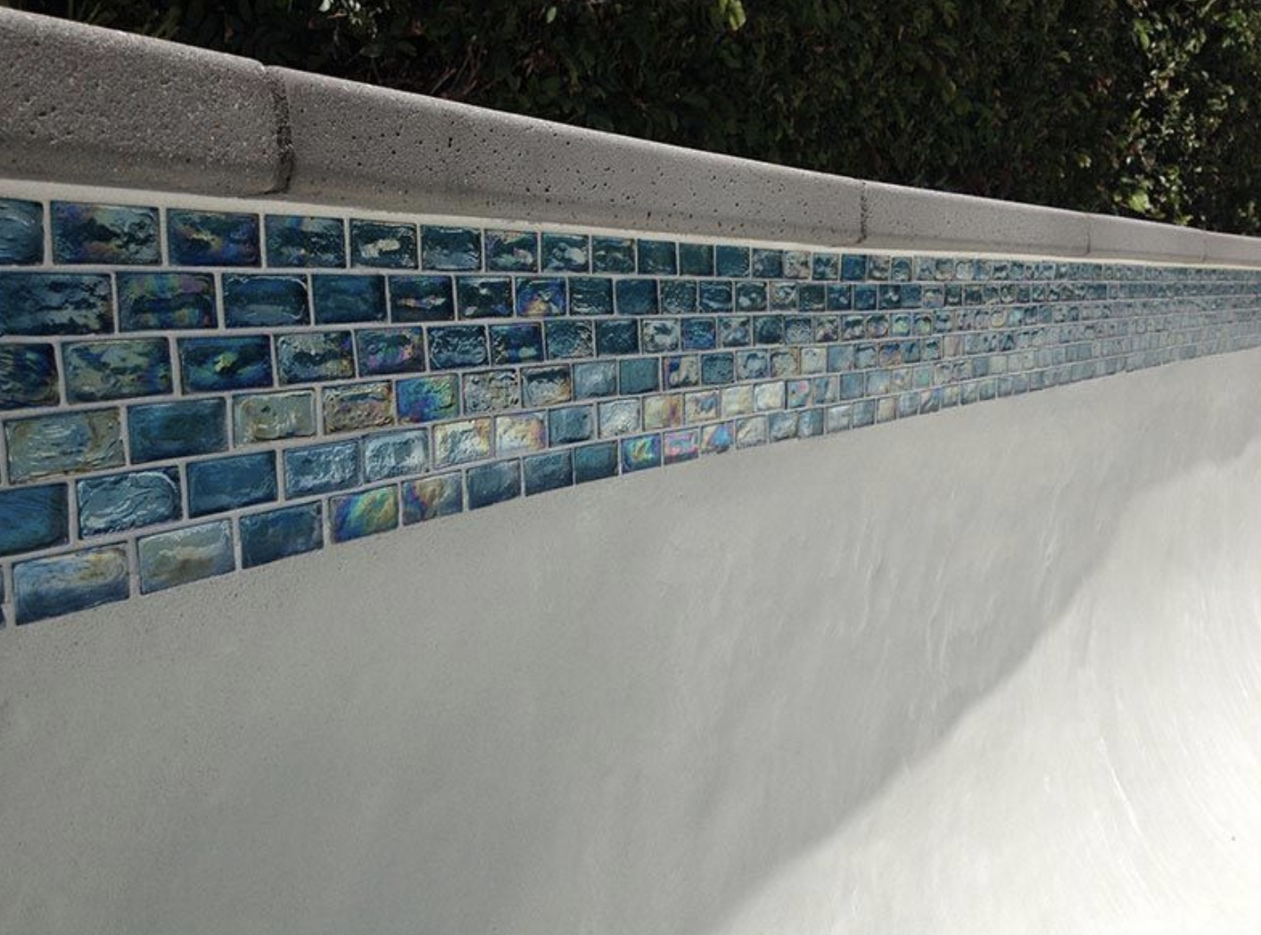 Glass Waterline Tile