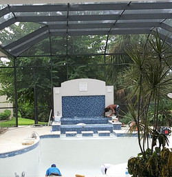 Water Feature w/ Spa