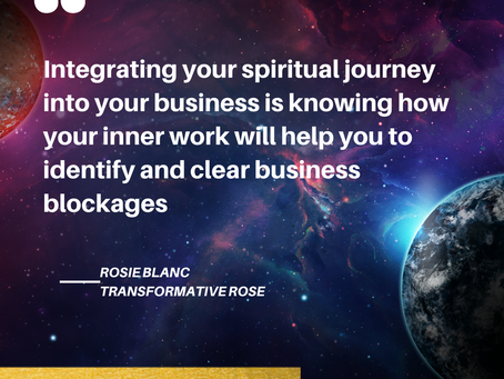 Integrating Your Spiritual Journey Into Your Business