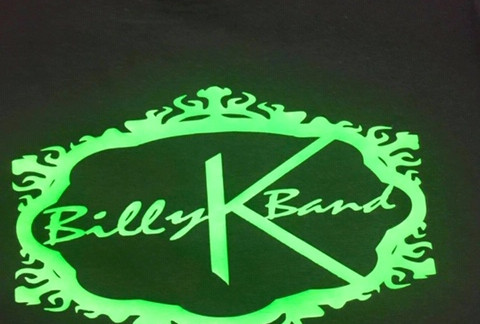 Billy K Band T Green