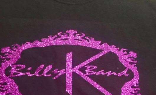 Billy K Band T Purple