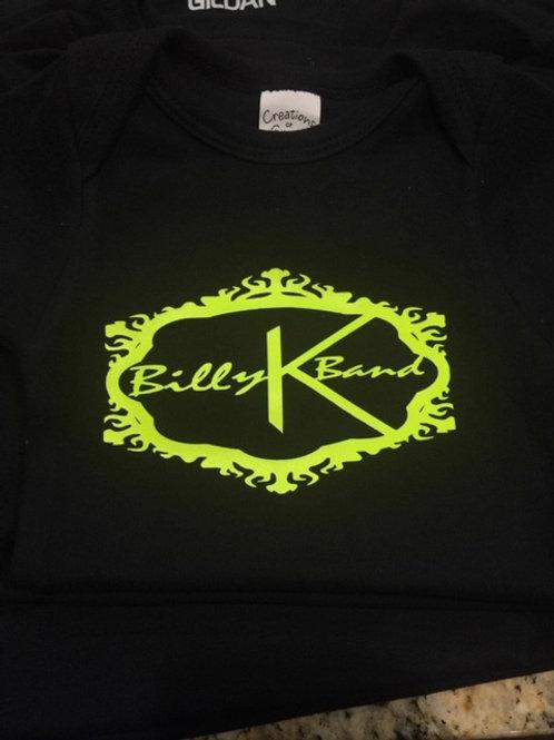 Billy K Band T-Shirt Neon  Logo