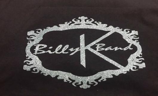 Billy K Band T Black & Gray