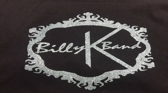 Billy K Band T Black & Gray