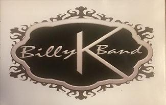 BILLY K BAND STICKER