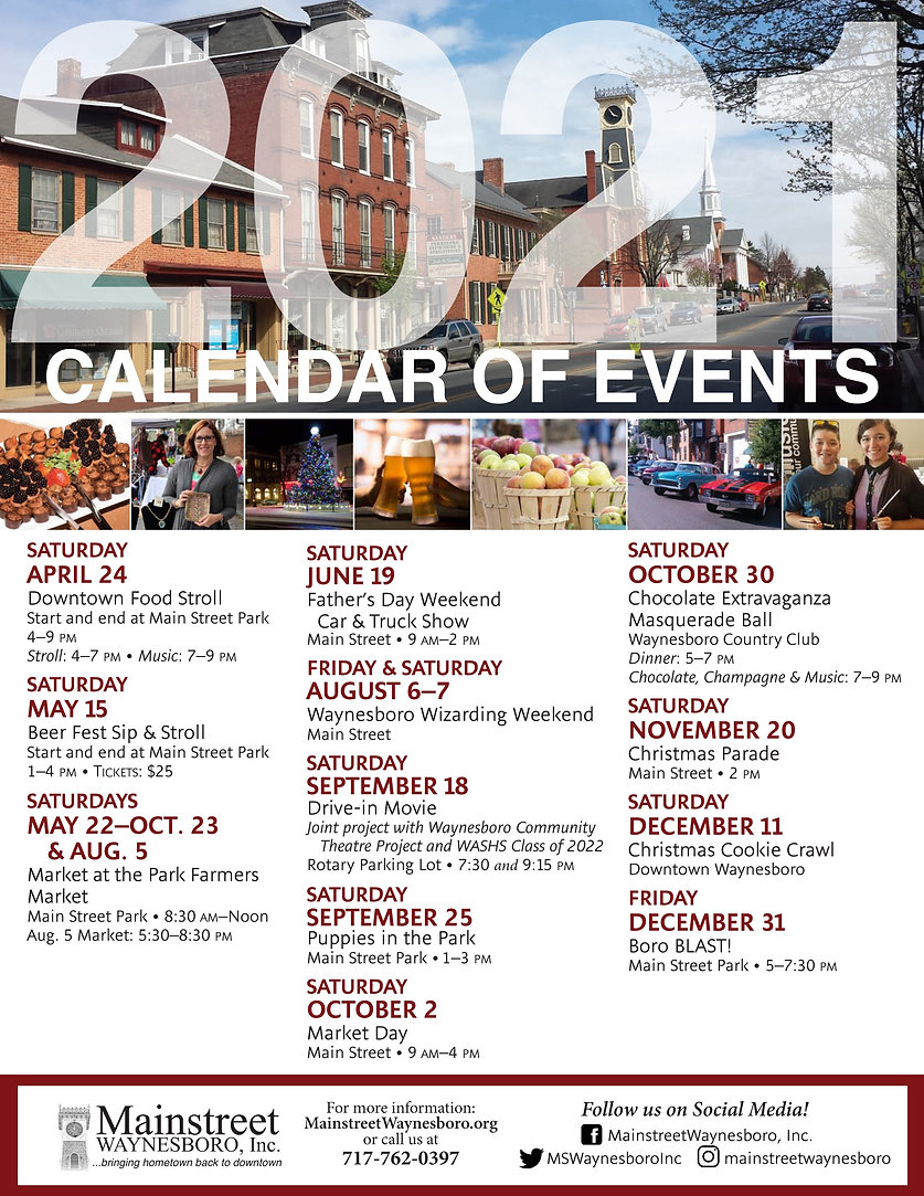 2021 calendar of events revised 3-14-21.
