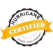 Hurricane's Used Equipment Certification