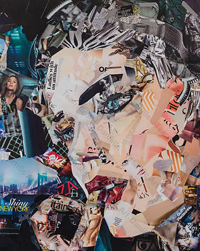 Collage New York State of Mind van Danielle Hopenbrouwers