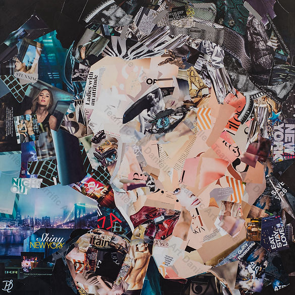 Collage New York State of Mind van Danielle Hoppenbrouwers
