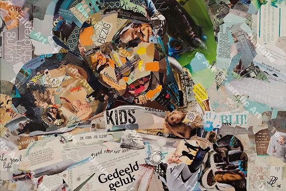 Collage Bonded Forever van Danielle Hoppenbrouwers