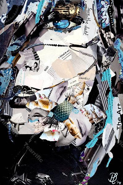 Collage I-C-U van Danielle Hoppenbrouwers