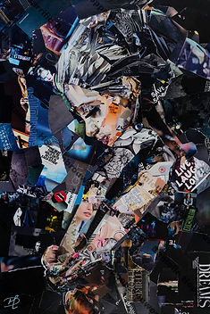 Collage Infinite Dreams van Danielle Hopenbrouwers