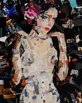 Collage Dazzling van Danielle Hoppenbrouwers