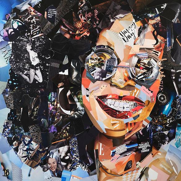 Collage Fabulicious van Danielle Hoppenbrouwers