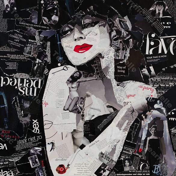 Collage Seduction van Danielle Hoppenbrouwers