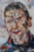 Collage Portret 4 van Danielle Hoppenbrouwers
