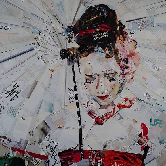 Collage Misaki van Danielle Hoppenbrouwers