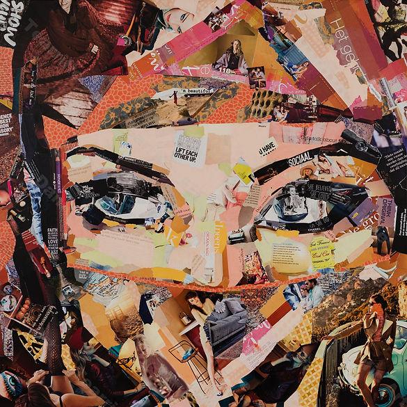 Collage Hidden Treasure van Danielle Hoppenbrouwers