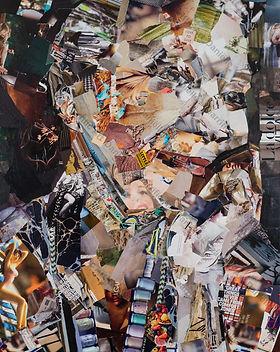 Collage Life Happened van Danielle Hoppenbrouwers