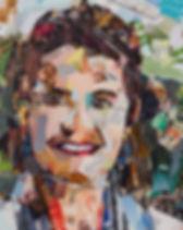 Collage Maatwerk Portret 1 van Danielle Hoppenbrouwers
