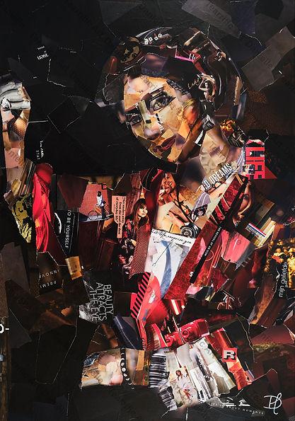 Collage Modern Hendrikje van Danielle Hoppenbrouwers