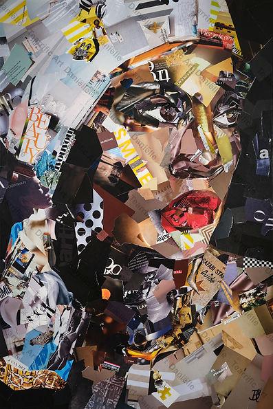 """Collage """"Elle"""" van Danielle Hoppenbrouwers"""