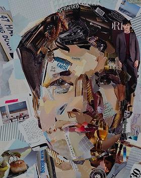 Collage Maatwerk Portret 2 van Danielle Hoppenbrouwers