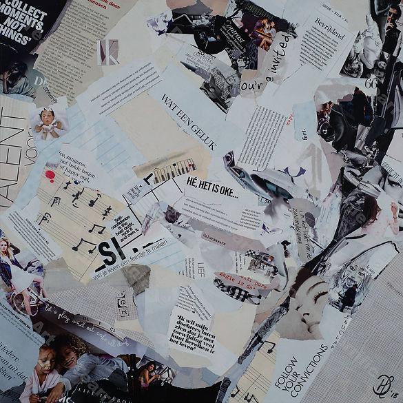 Collage Zangles Breda van Danielle Hoppenbrouwers