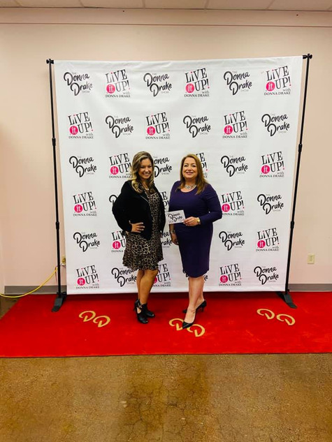 """Miss Rosa featured on """"Live It Up with Donna Drake"""""""