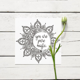 Birthday / Thank You Card