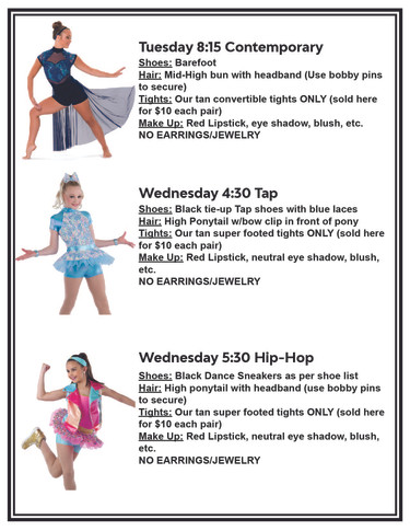 Recital Costume Accessories