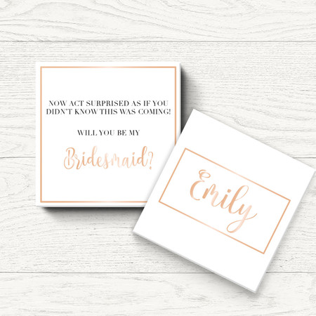 Bridal Party Proposal Labels