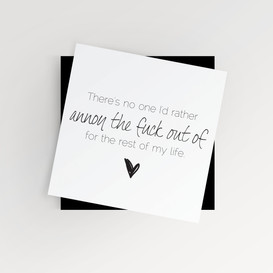 Anniversary / Engagement Card
