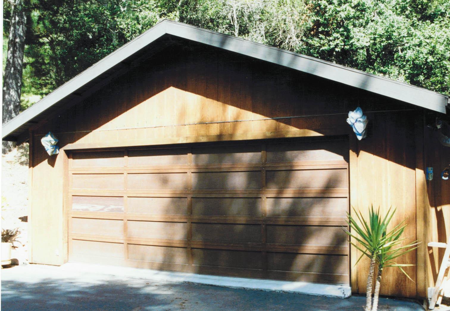 Marin County Natural wood before CWF
