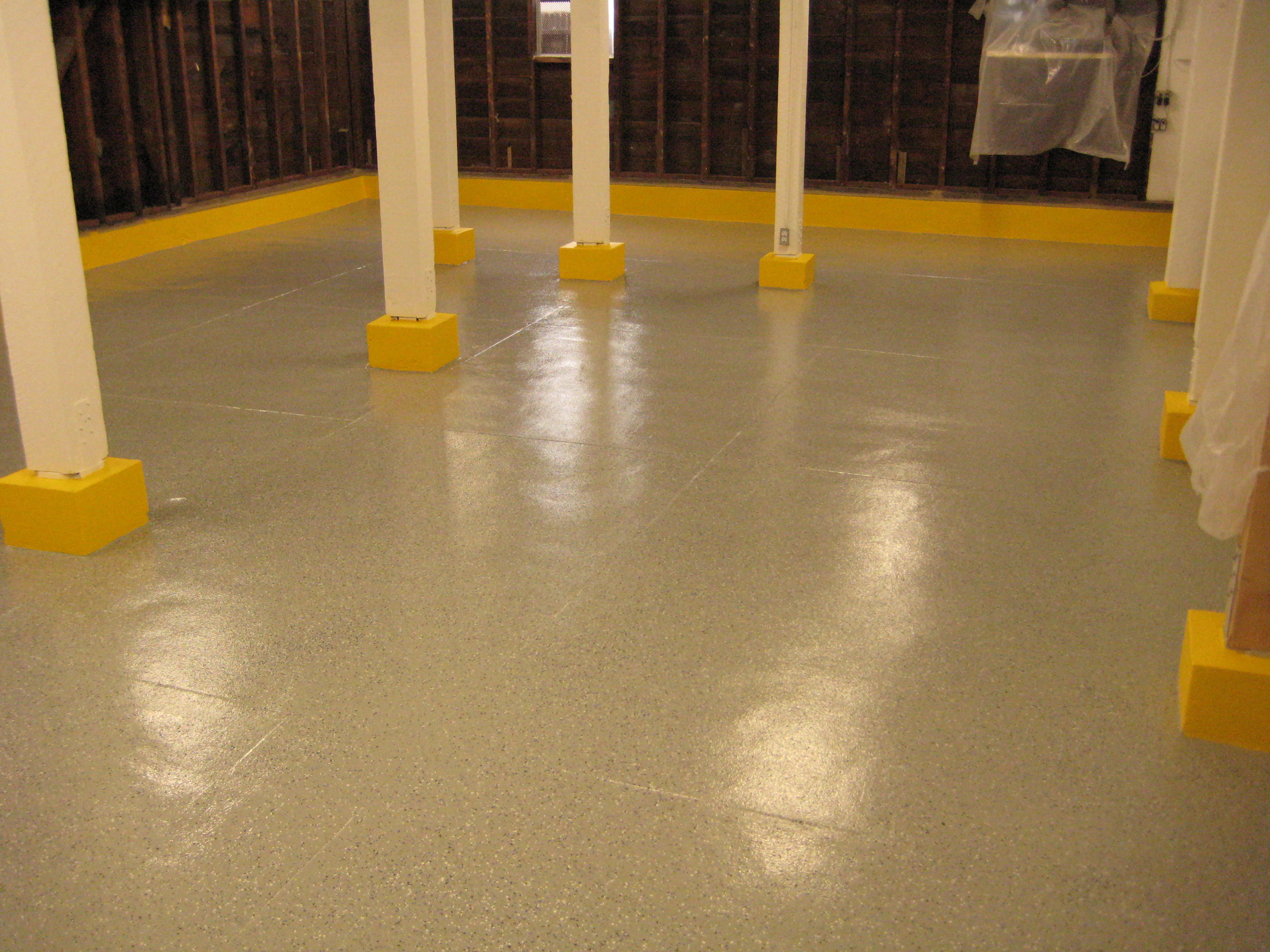 Floor coating complete