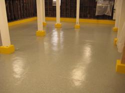 Floor coating complete