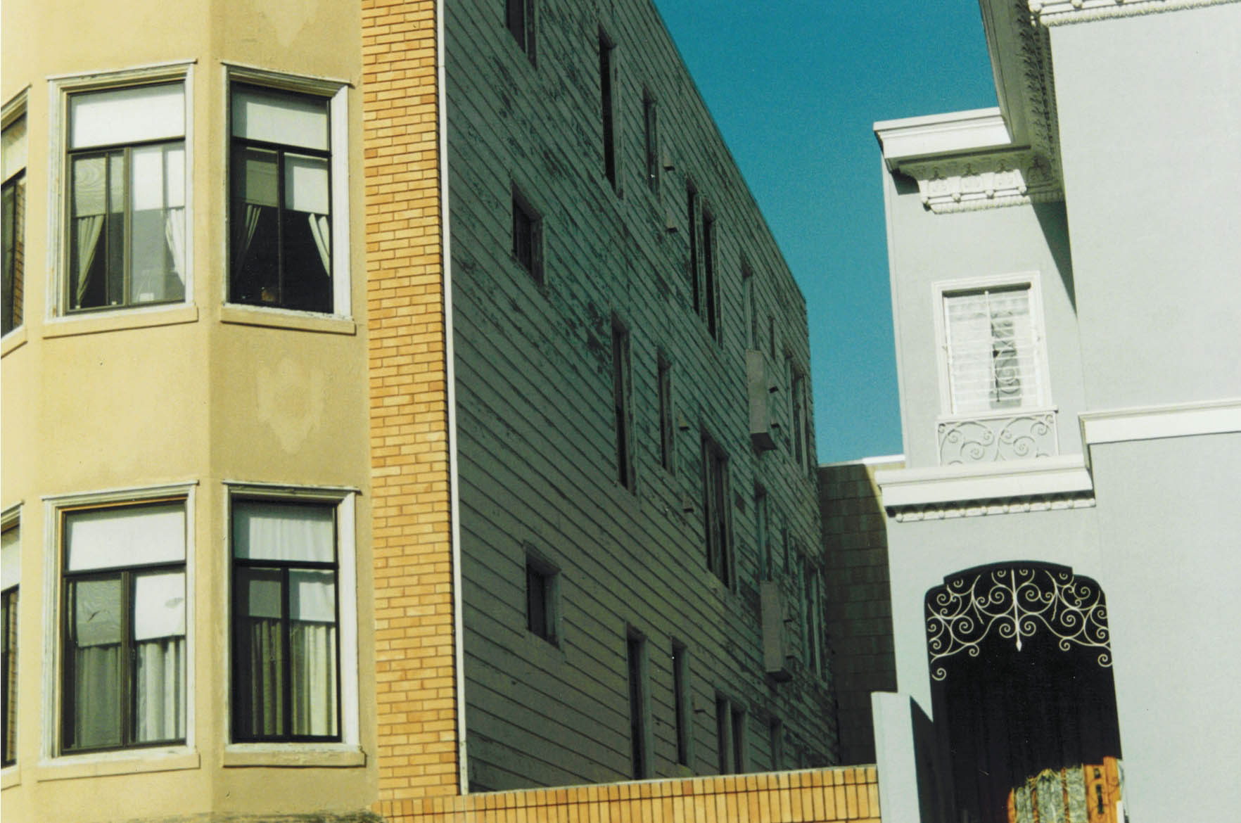S.F.  Apartment Exterior before