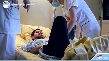 Kiné à l'hôpital