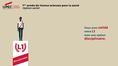 Licence santé