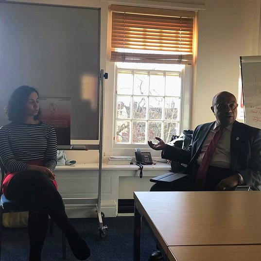13/11/2018 Rt. Hon Paul Boateng MP speaks