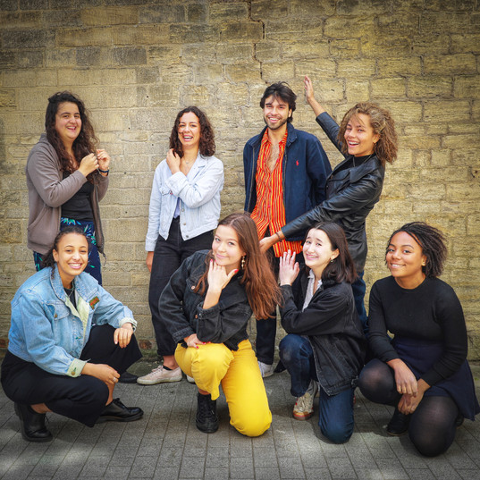 4/5/2019 some of our 2018/9 committee at our photo campaign collaboration with mixedracefaces