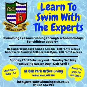 Learn To Swim With The Experts