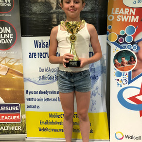 Top Girl for Faith and Medals for Walsall at High Quality Wolverhampton Meet