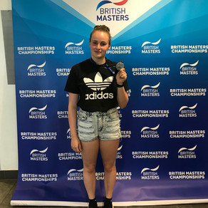 Courtney takes Masters Gold In Sheffield