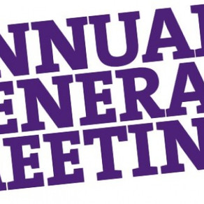 Annual General Meeting of Walsall Swimming Club