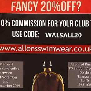 20% Off Swimwear for Christmas